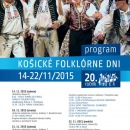 Košické folklórne dni 22.11.2015